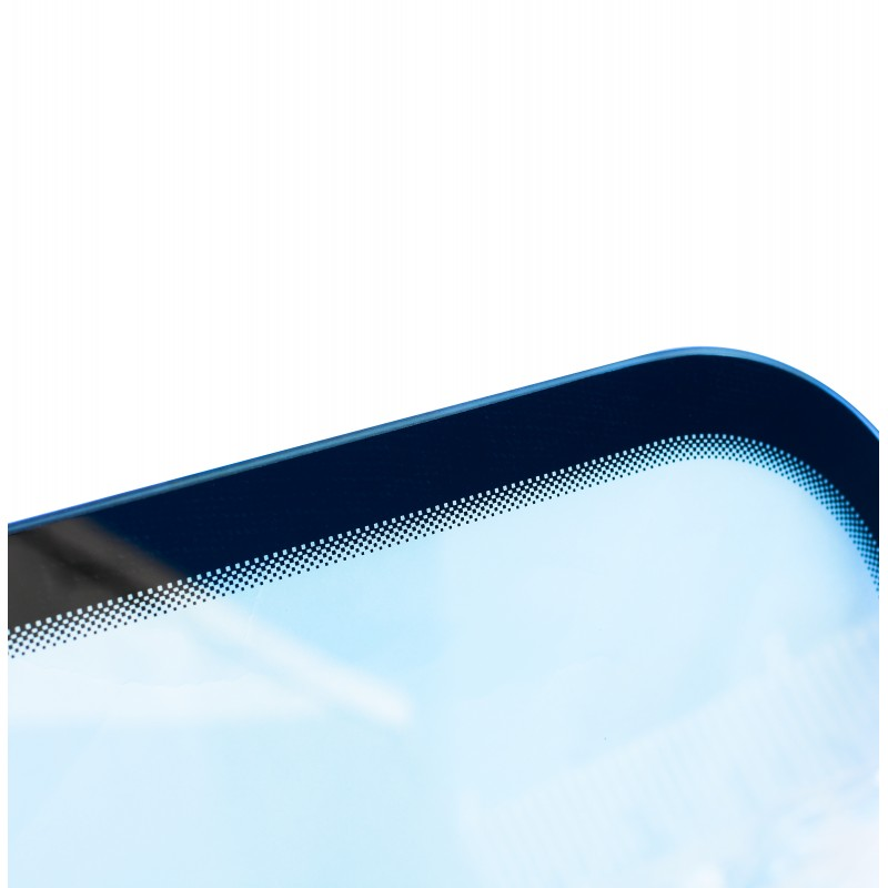 GLASS WITH ROUNDED CORNERS