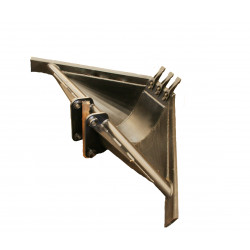 TRAPEZOIDAL BUCKET VOLVO BL71 WITH TEETH
