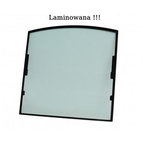 GLASS LAMINATED GREEN WITH SCREEN PRINT CVA