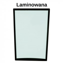 GLASS LAMINATED GREEN WITH SCREEN PRINT CVA FRONT