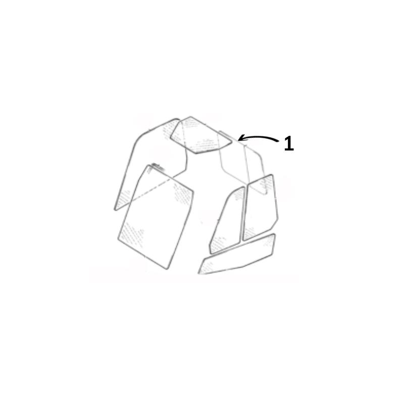 GLASS TOUGHENED CLEAR CVA