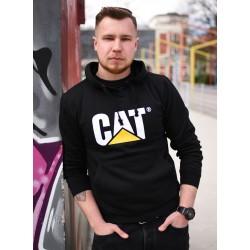 CZARNA BLUZA CAT ORYGINAŁ M