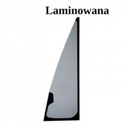 GLASS LAMIANTED GREEN WITH SCREEN PRINT CVA FRONT LEFTHAND/RIGHTHAND