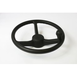 STEERING WHEEL WITH KNOB
