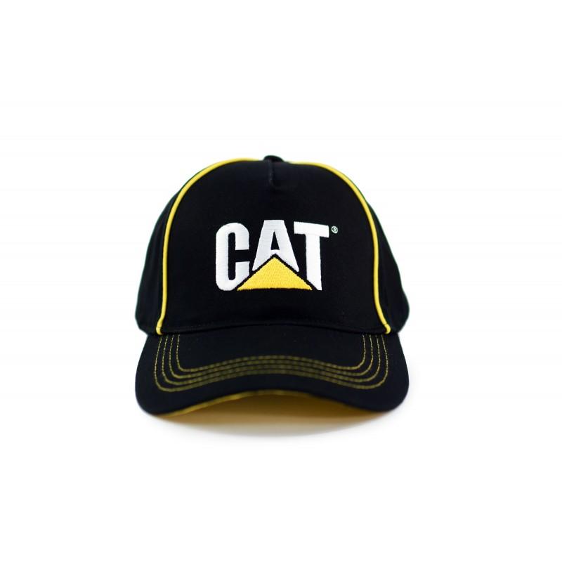 Czapka Caterpillar czarna/zółta oryginał