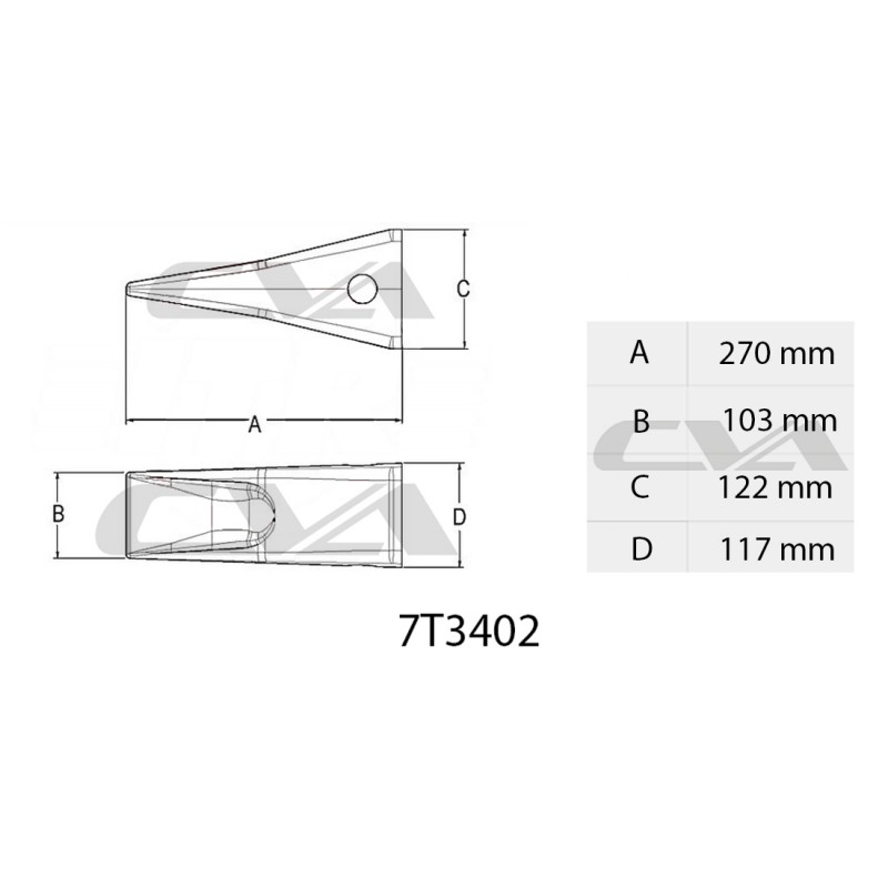 TIP J400 CVA
